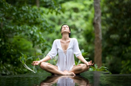 Healing meditation can speed up healing and promote wellness.